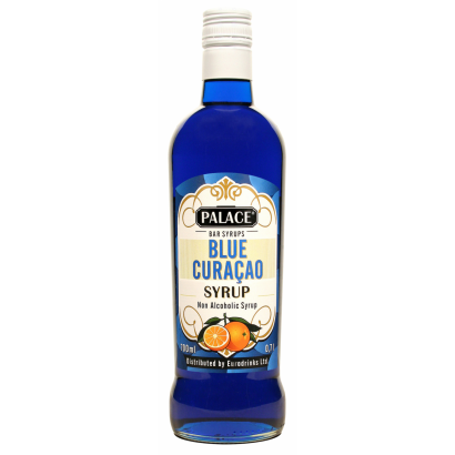 PALACE Blue Curacao Cocktail syrup 0,7 l