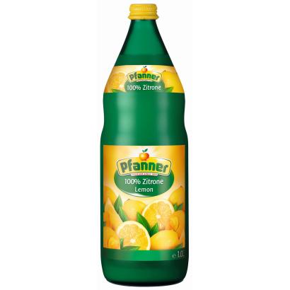 Pfanner 100% Lemon Juice 1 l
