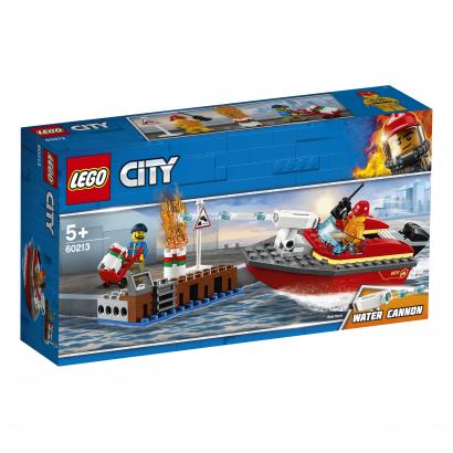LEGO City Fire Tűz a dokknál (60213)