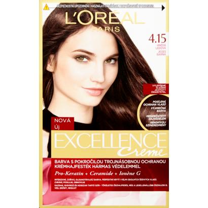 L'Oréal Paris Excellence Creme 4.15 Jeges Barna tartós krémhajfesték