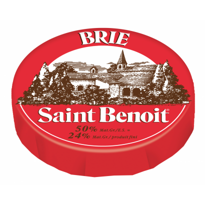 Brie St. Benoit 50% cheese