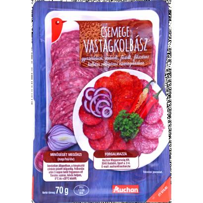 Auchan deli thick sausage 70 g