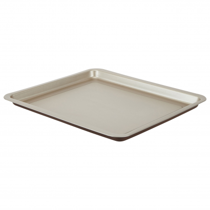 ACT -PIZZA/BAKING TRAY 32X37 CM WITH HANDLES