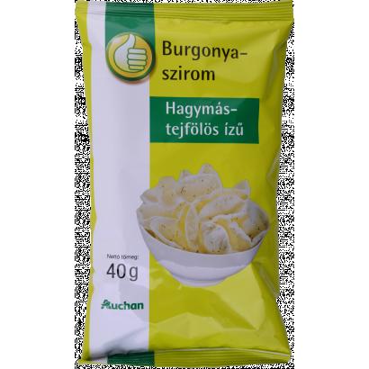 Tuti Tipp hagymás-tejfölös ízű burgonyaszirom 40g