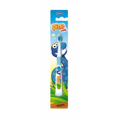 Gyerek fogkefe,  dino mintázattal