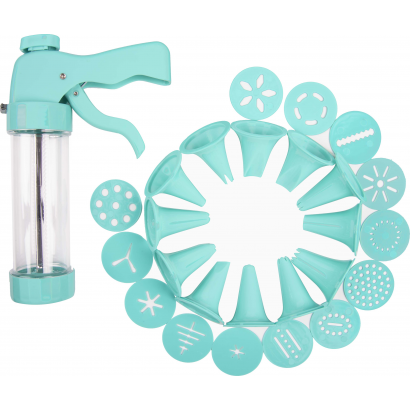 ACT ICING GUN WITH 6 NOZZLES AND 13 FRAMES