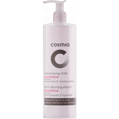 Cosmia face wash milk sensitive 250 ml