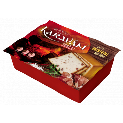 KARAVAN SMOKED CHEESE WITH HAM 1,2KG