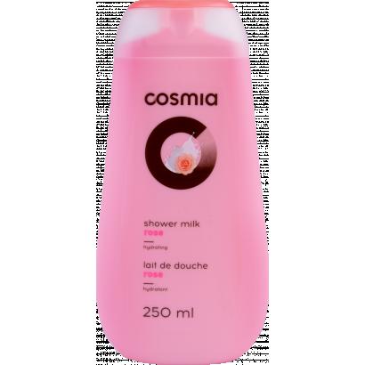 Cosmia milk rose shower gel 250 ml