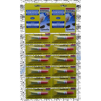Soudal 84A Cyanofix, 3g, folyékony