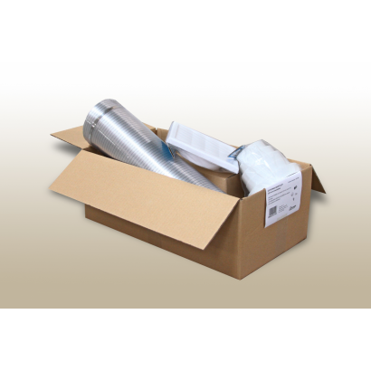 Evido 105140K 125mm páraelszívó bekötő szett
