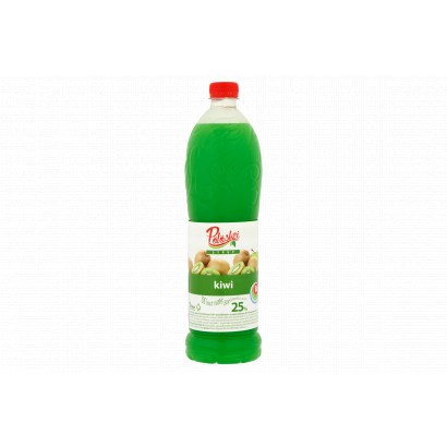 Pölöskei Low-Energy Kiwi Flavoured Syrup with Sugar and Sweetener 1 l