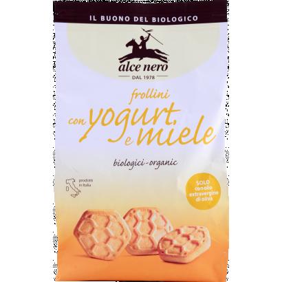 Alce nero bio joghurtos mézes keksz 350 g
