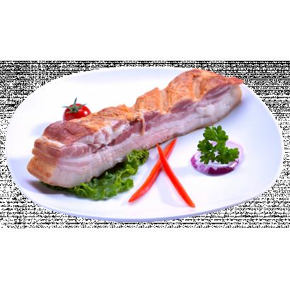 """Smoked  bacon  """"Kolozsvar"""" style"""