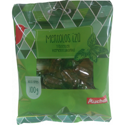 Auchan mint flavoured hard candy 100 g