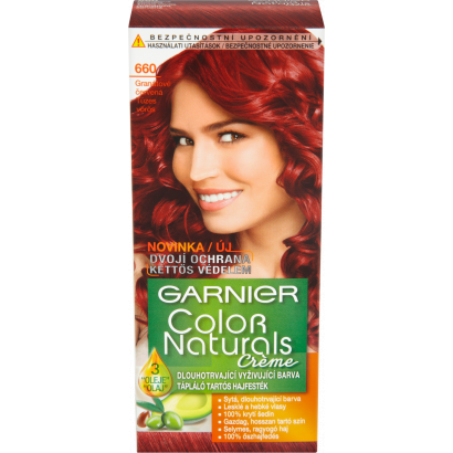 Garnier Color Naturals Creme 660 Intenzív Vörös tápláló tartós hajfesték