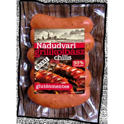 Nádudvari grillkolbász chilis 300 g