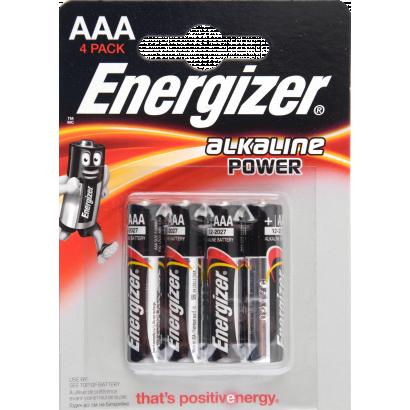 Energizer Power Seal Alkáli elem AAA LR3 4db