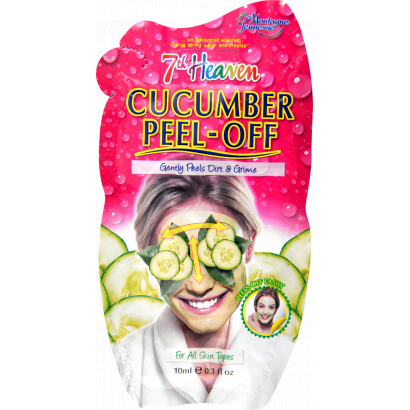 7th Heaven peel-off mask with cucumber