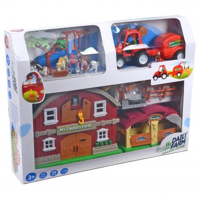 One Two Fun Farmer ház traktorral