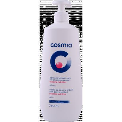Cosmia dermo-protect 2 in 1 shower gel and bath foam 750 ml
