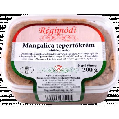 Mangalica greaves cream