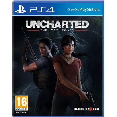 PS4 uncharted the lost leg, ps4 szoftver