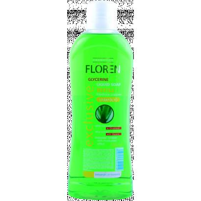 Floren folyékony szappan utántöltő Aloe Vera 1 l