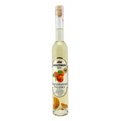 BOLYHOS APRICOT BRANDY AGED ON FRUIT- BED 0,35 L