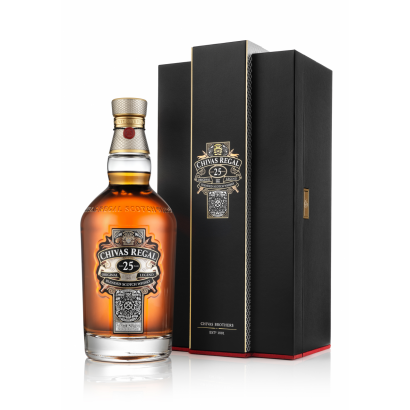 CHIVAS REGAL 25 YEARS OLD SCOTCH WHISKY 0,7L