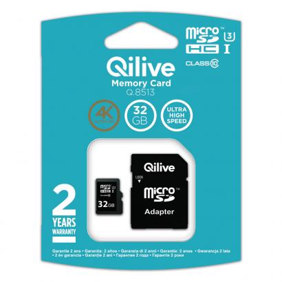 Qilive micro SD 32gb class 10