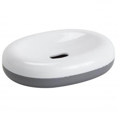 Actuel műanyag szappantartó, szürke/fehér