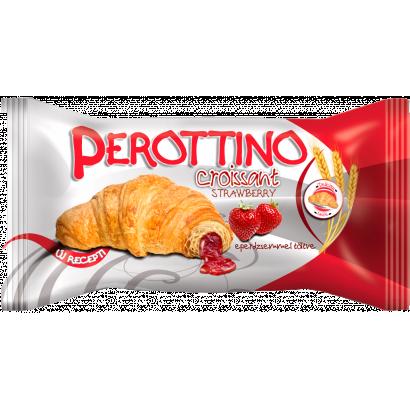 Perottino croissant eper krémmel töltött 55 g