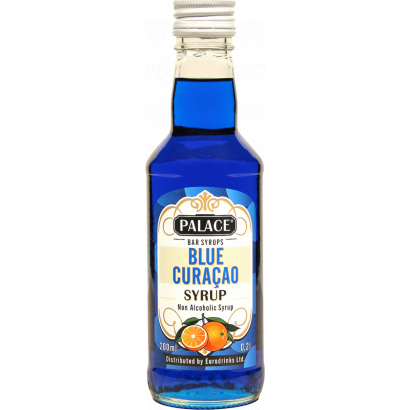PALACE Blue Curacao Cocktail syrup 0,2 l