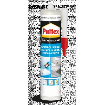 Pattex szaniter szilikon, átlátszó, 280 ml