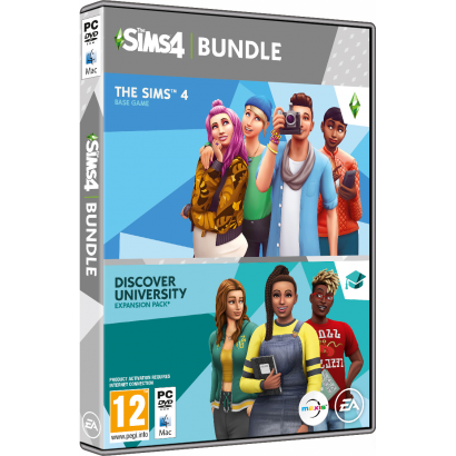 PC THE SIMS 4 DISCOVER UNIVERSITY (EP8) BUNDLE PACK