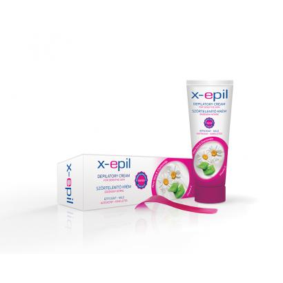 X-epil szőrtelenítő krém 75 ml
