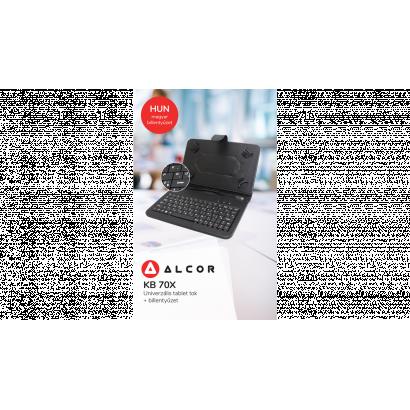 Alcor tablet tok, billentyűzettel