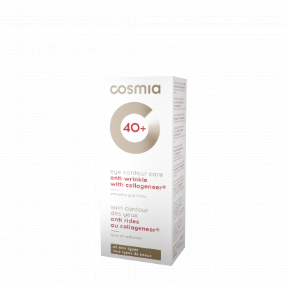 COSMIA ANTI-WRINKLE  EYE CREAM / all skin types, anti-wrinkles / AGE  40 + / 15 ML