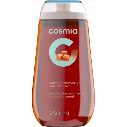 COSMIA SHOWER GEL CARAMEL 250 ML
