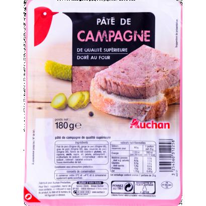 Auchan village pate 180 g