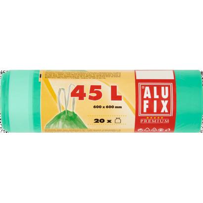 Alufix Premium szemeteszsák 45 l 20 db