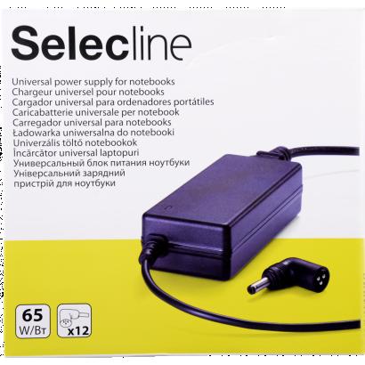 Selecline notebook töltő, 851012, univerzális