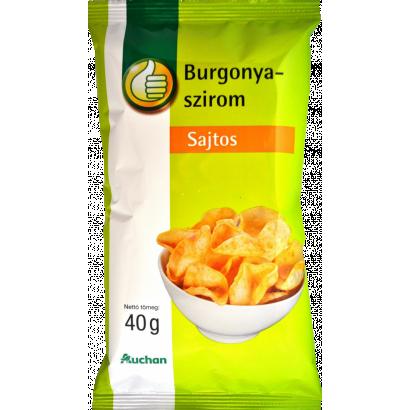 Tuti Tipp sajtos burgonyaszirom 40g