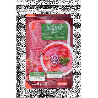 Auchan dán szalámi 75 g