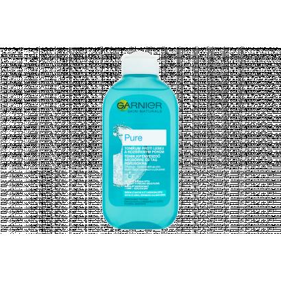 Garnier Skin Naturals Pure tonik kifényesedő arcbőrre és tág pórusokra 200 ml