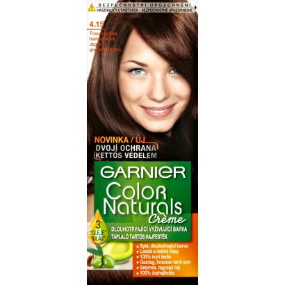Garnier Color Naturals Creme 4.15 jeges gesztenyebarna tápláló tartós hajfesték
