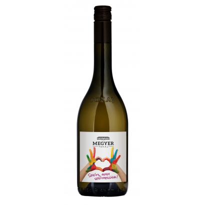 Megyer Tokaj Adománygyűjtő bor száraz fehér bor.750 ml