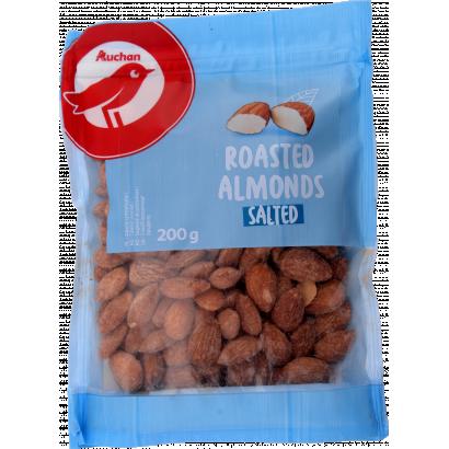 Auchan Nívó pörkölt,sós mandula 200 g