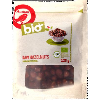 Auchan Nívó BIO nyers mogyoróbél 125 g